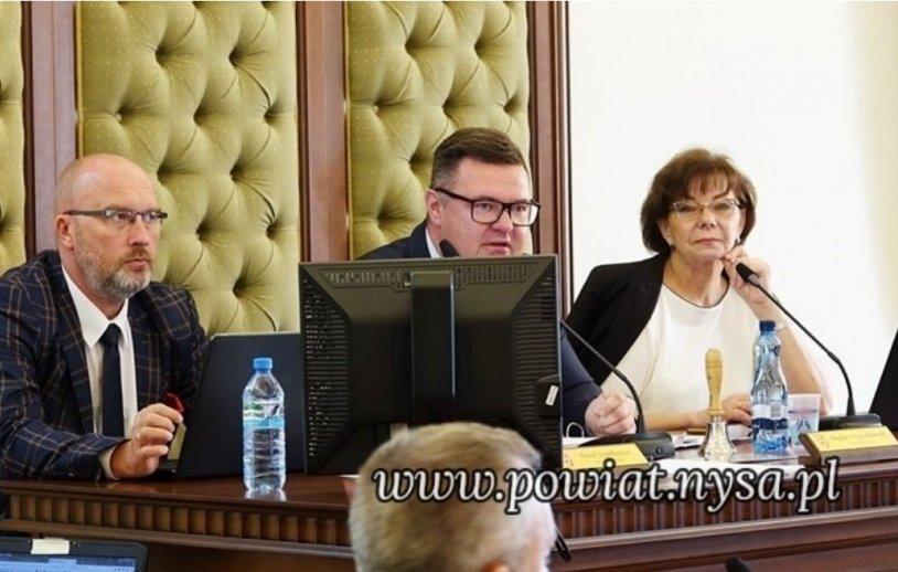 Porządek XX sesji Rady Powiatu w Nysie